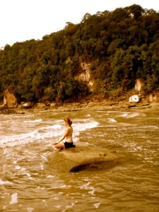 Because I'd love to do yoga on rocks in Borneo (or someone equally as exotic) when I'm a grandma...
